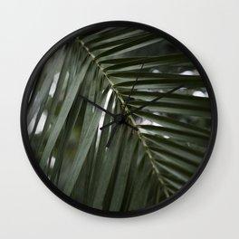 Plant - Fern 2 Wall Clock
