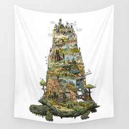 THE TORTOISE Wall Tapestry