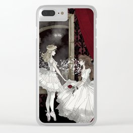 Angel of Music Clear iPhone Case