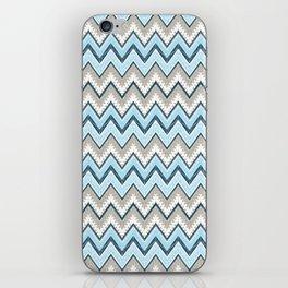 Blue India iPhone Skin