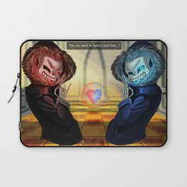 Final Sans Laptop Sleeve