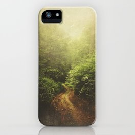 Once Upon A Path iPhone Case