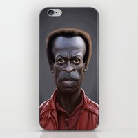 miles davis iPhone & iPod Skins featuring Celebrity Sunday ~ Miles Dewey Davis by rob art | illustration