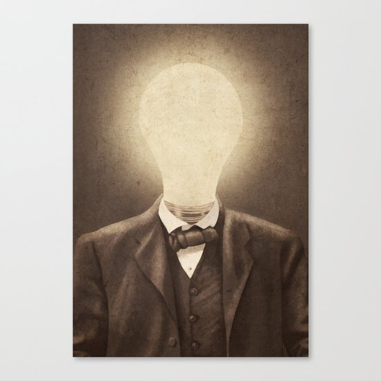 The Idea Man  Canvas Print