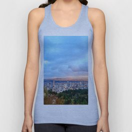 DOWNTOWN PORTLAND Unisex Tank Top