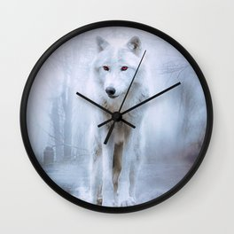 Wolf- rework Wall Clock