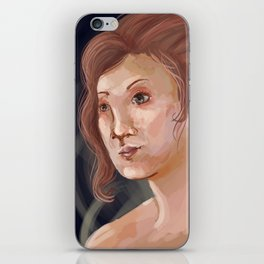 each heart cultivates its own song iPhone Skin
