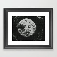 Georges Méliès A Trip To The Moon Framed Art Print