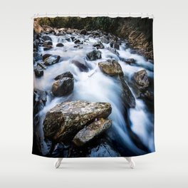 Take Me to the River - Rushing Rapids in the Great Smoky Mountains Shower Curtain