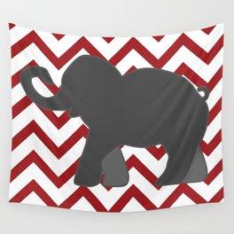 Roll Tide Elephant Crimson Tide Alabama Wall Tapestry