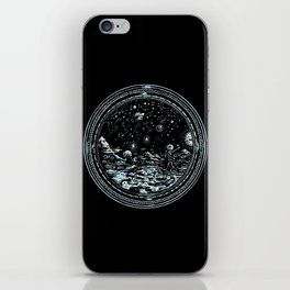 Miniature Circle Landscape 2: Astronausea.. iPhone Skin