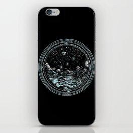 Miniature Circle Landscape 2: Astronausea.. iPhone Skin