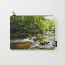 River surrounded by trees and plants Carry-All Pouch
