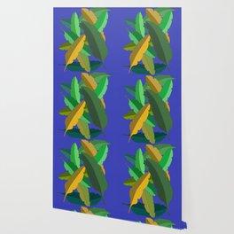 Bunch of Banana Leaves Wallpaper