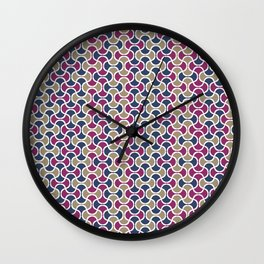 AFE Ogee Pattern Wall Clock