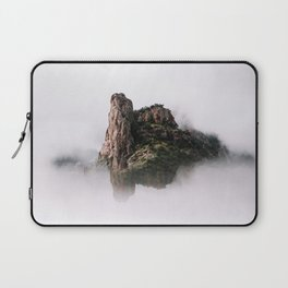 Fantasy Floating Mountain Laptop Sleeve