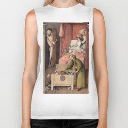 Hieronymus Bosch - Death and the Usurer Biker Tank