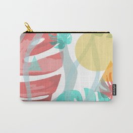 Wild Monstera Carry-All Pouch