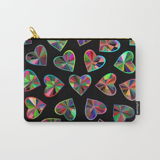 Hearts of glass Carry-All Pouch