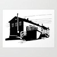 Industrial 1 Art Print