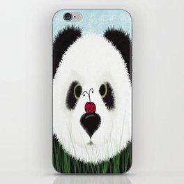The Panda Bear And His Visitor iPhone Skin