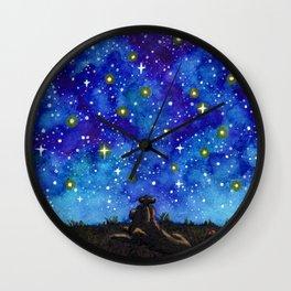 Look at the Stars Wall Clock