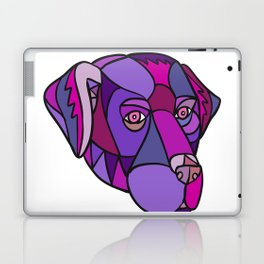 Labrador Retriever Dog Head Mosaic Color Laptop & iPad Skin