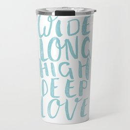 LOVE inifinite - BLUE Travel Mug