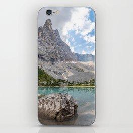 Sorapis Lake - Italy iPhone Skin
