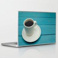 coffe Laptop & iPad Skins featuring Coffe by Camaracraft