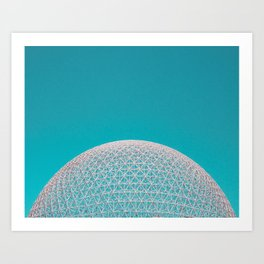 Surreal Montreal 5 Art Print
