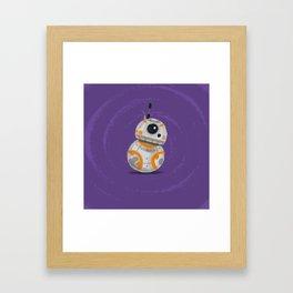 Li'l BB-8 Framed Art Print