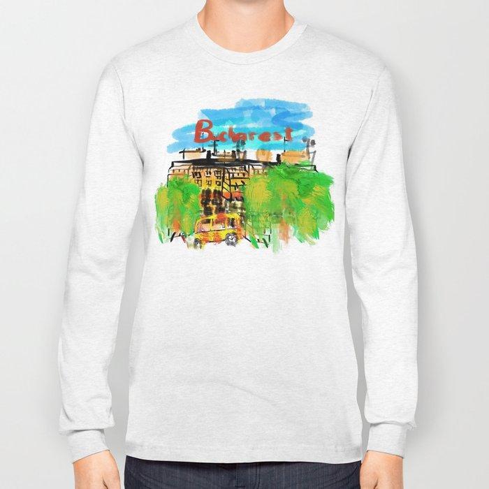 bucharest Long Sleeve T-shirt