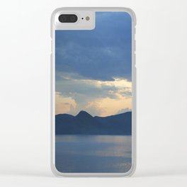 Lake 2 Clear iPhone Case