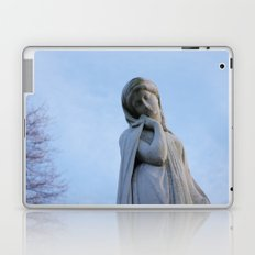 I Want To Be A Mysterious Woman Laptop & iPad Skin