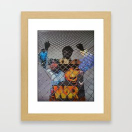 """WAR"" Framed Art Print"