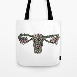 Female Floral Tote Bag