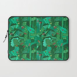 Tropical Forest Green Laptop Sleeve