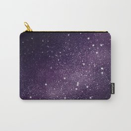 Puple Galaxy Carry-All Pouch