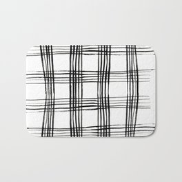 Agnes Grid Bath Mat