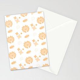 Spriton Echidna, Playful Pattern Stationery Cards