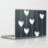calendars Laptop & iPad Skins featuring Heart  by Shabby Studios Design & Illustrations ..