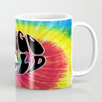 indigo Mugs featuring Indigo by Top Head Culture