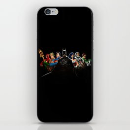 super hero iPhone Skin