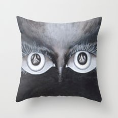Windows to the Soul Throw Pillow