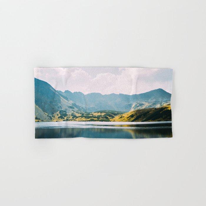 Autumn Mountain Lake Hand & Bath Towel