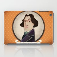 oscar wilde iPad Cases featuring Oscar Wilde said... by Mrs Peggotty