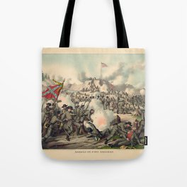 Civil War Assault on Fort Sanders Nov. 29 1863 Tote Bag