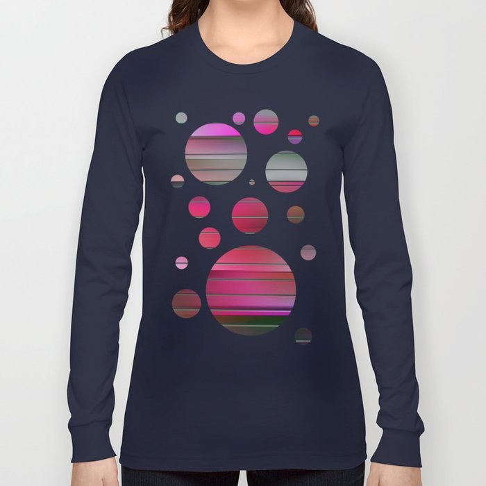 springtime square 8 Long Sleeve T-shirt