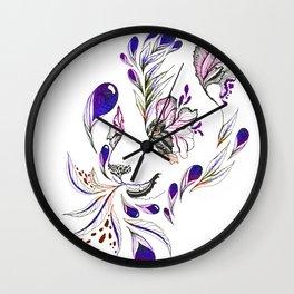 Hidden panda Wall Clock